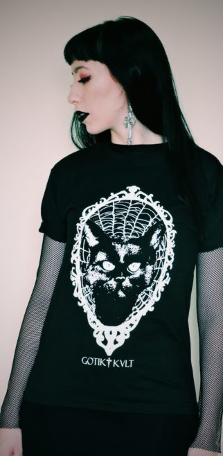 CAMISETA NOX, THE BLACK CAT