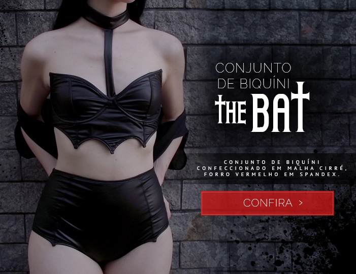 Conjunto de Biquíni The Bat